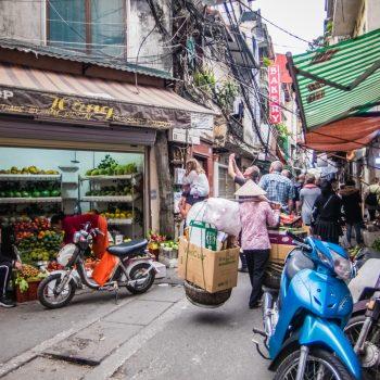 7 1 - smalle gader - Hanoi