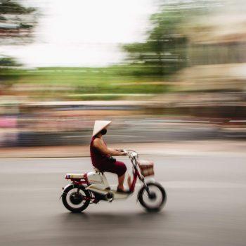 Motorcykel i Hanoi