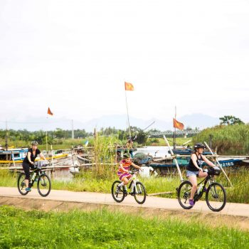 Guided bike tour in Hoi An