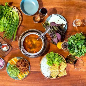 Topas Riverside Lodge - Sapa - Kitchen Meal