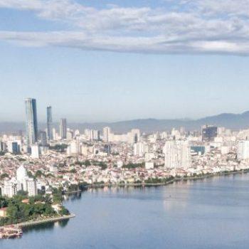 Hanoi set oppe fra