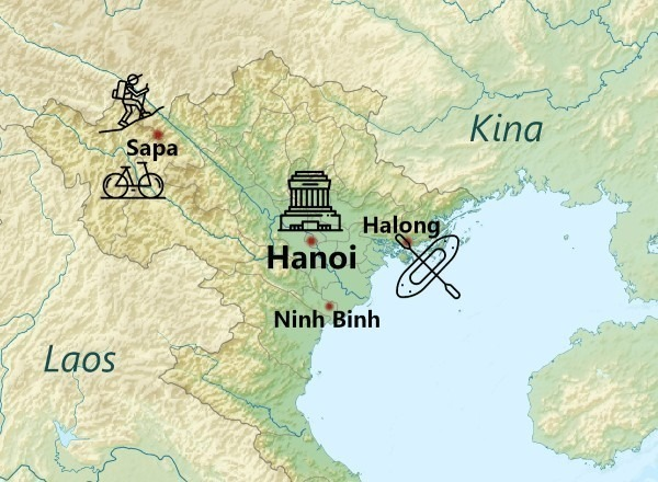 Northern Vietnam Acitivity overview