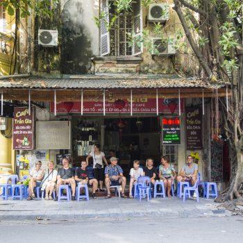 Vietnam local restaturant also called Bia Hoi