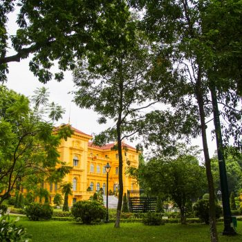 Capture of the presidential palace in Hanoi