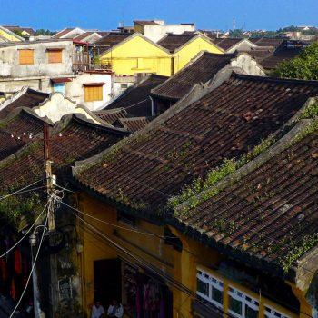 Ancients skyline of Hoi An city
