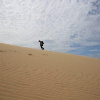 Mui Ne - Sand dunes - beach