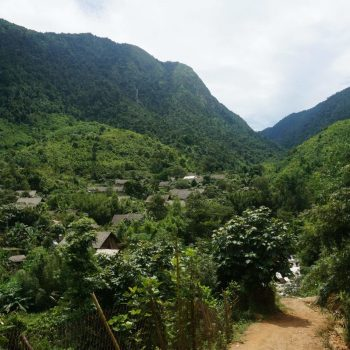 Local village in Sapa mountains